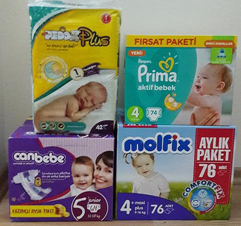 Bebek Bezi Çeşitleri