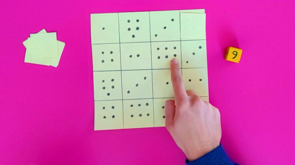 rakam eşleştirme oyunu