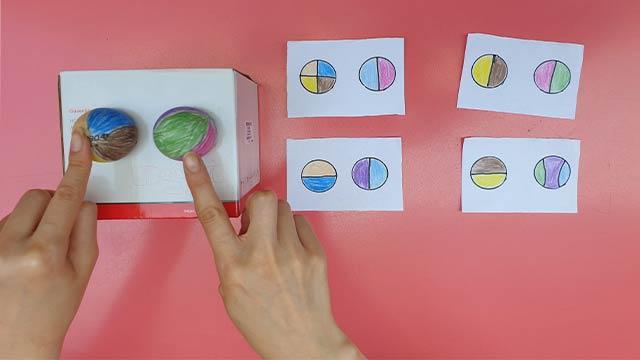 Pinpon Topu Renk Eşleştirme